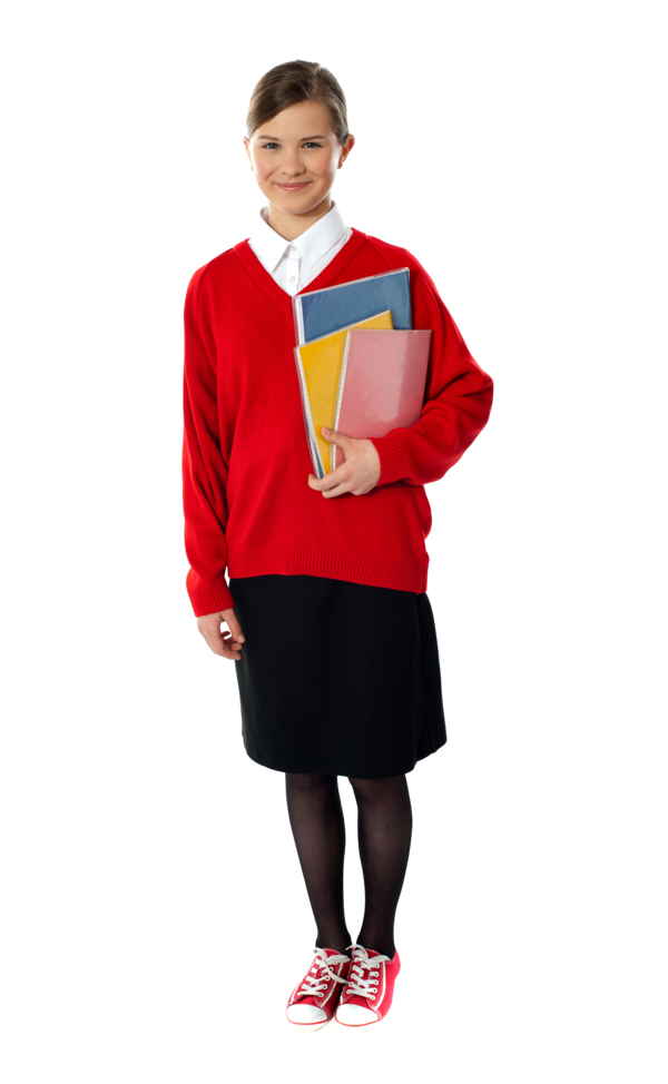 Transparent Student Clothing Sleeve Outerwear Clipart for School