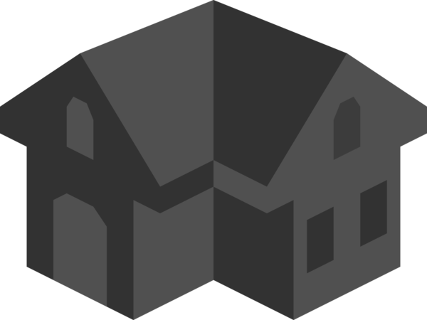 Transparent House Structure House Line Clipart for Buildings