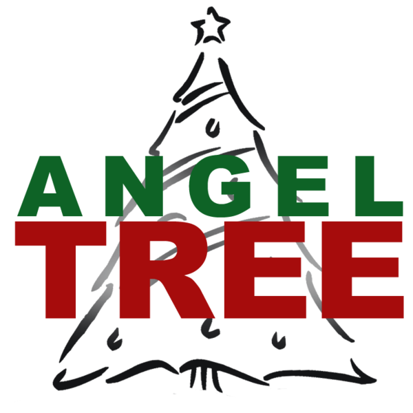 Transparent Christmas Text Tree Line Clipart for Holidays