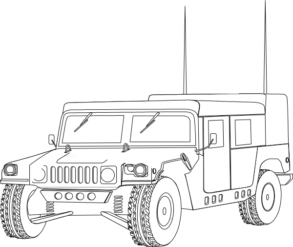 Transparent Fighting Car Vehicle Transport Clipart for Military