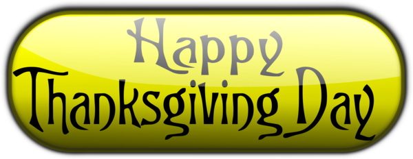 Transparent Thanksgiving Text Logo Area Clipart for Holidays