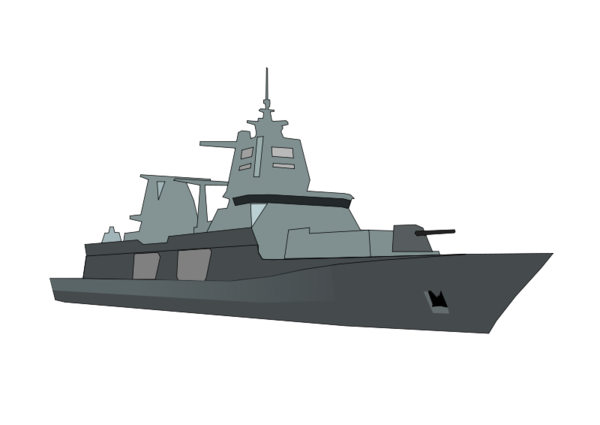 Transparent Navy Naval Ship Warship Vehicle Clipart for Military