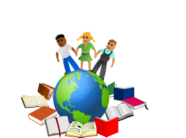 Transparent Teacher Globe Play World Clipart for School