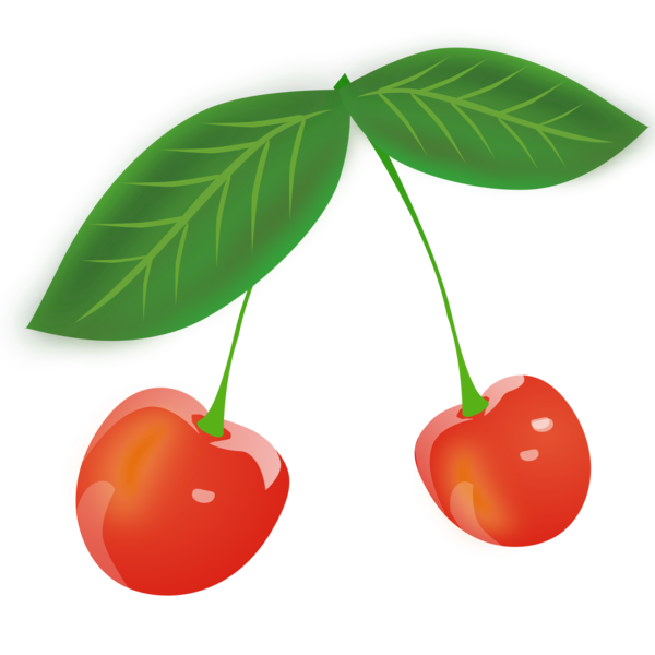 Transparent Fruit Cherry Fruit Food Clipart for Food