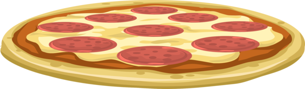 Transparent Pizza Cuisine Dish Pepperoni Clipart for Food