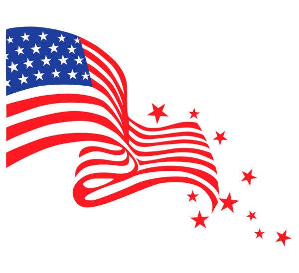 Transparent Fourth Of July Line Area Wing Clipart for Holidays