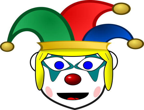 Transparent Clown Clown Smiley Smile Clipart for People