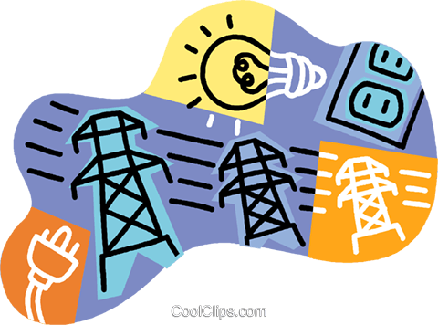 Transparent Electrician Text Line Area Clipart for Occupations