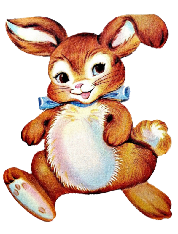 Transparent Rabbit Hare Rabbit Easter Bunny Clipart for Animals