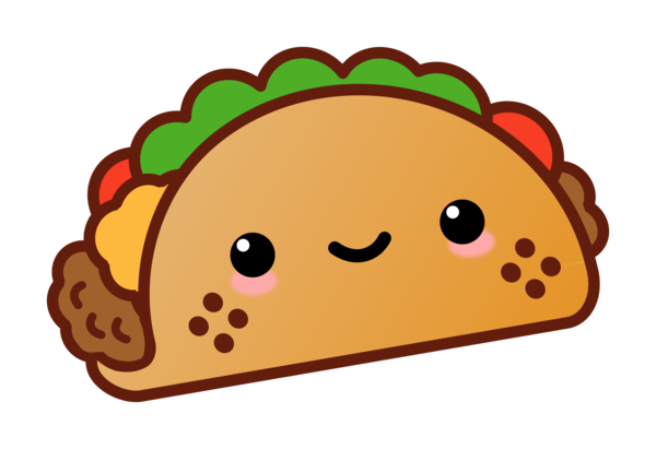 Transparent Mexican Food Cartoon Line Food Clipart for Food