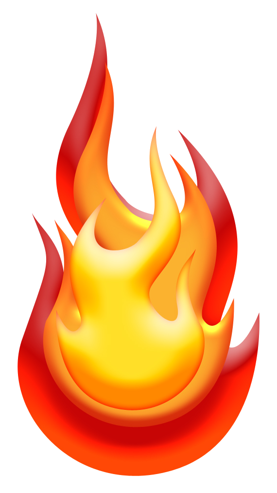 Transparent Fire Fruit Flame Clipart for Nature