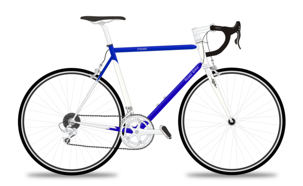 Transparent Bicycle Bicycle Road Bicycle Bicycle Frame Clipart for Transportation