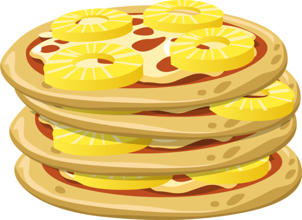 Transparent Pizza Food Dish Cuisine Clipart for Food