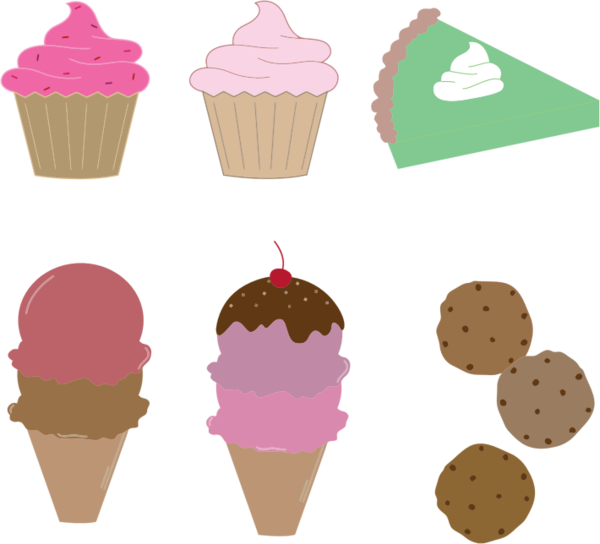 Transparent Dessert Ice Cream Cone Food Ice Cream Clipart for Food