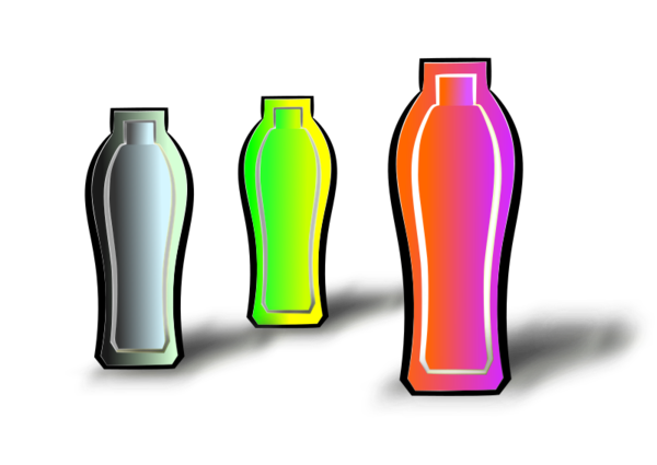 Transparent Water Bottle Glass Bottle Drinkware Clipart for Nature