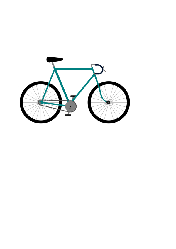 Transparent Bicycle Bicycle Land Vehicle Bicycle Wheel Clipart for Transportation