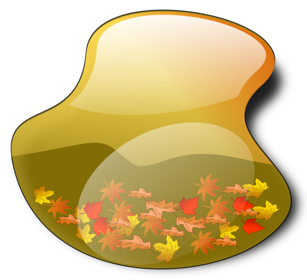 Transparent Autumn Flower Clipart for Nature
