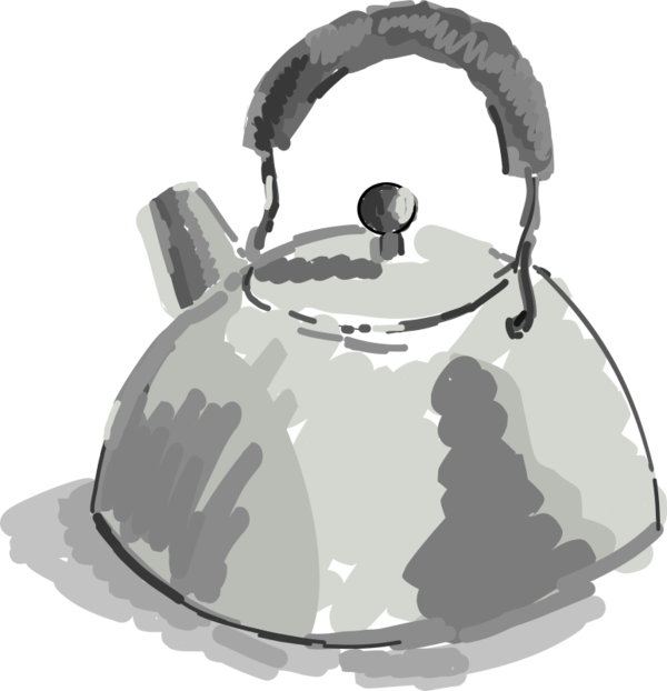 Transparent Water Kettle Tableware Stovetop Kettle Clipart for Nature