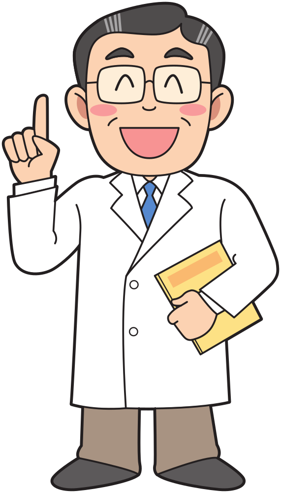 Free Doctor Man Facial Expression Finger Clipart Clipart Transparent Background