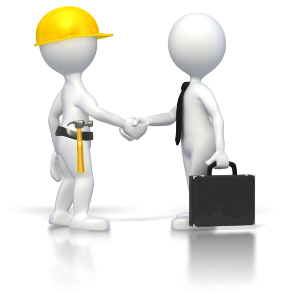 Transparent Handshake Joint Communication Technology Clipart for Business