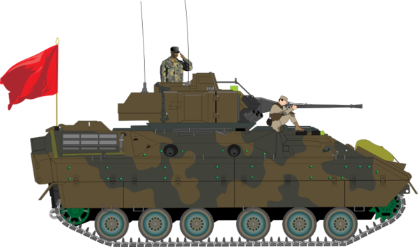 Transparent Fighting Tank Vehicle Combat Vehicle Clipart for Military