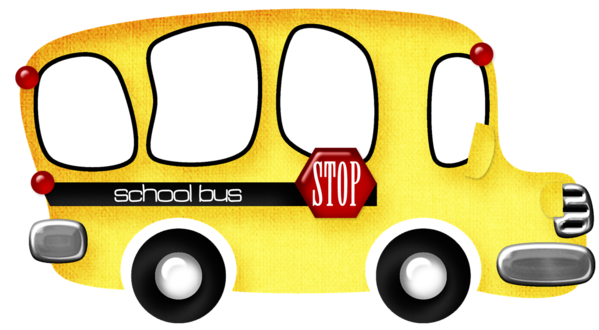Transparent School Vehicle Technology Area Clipart for Buildings