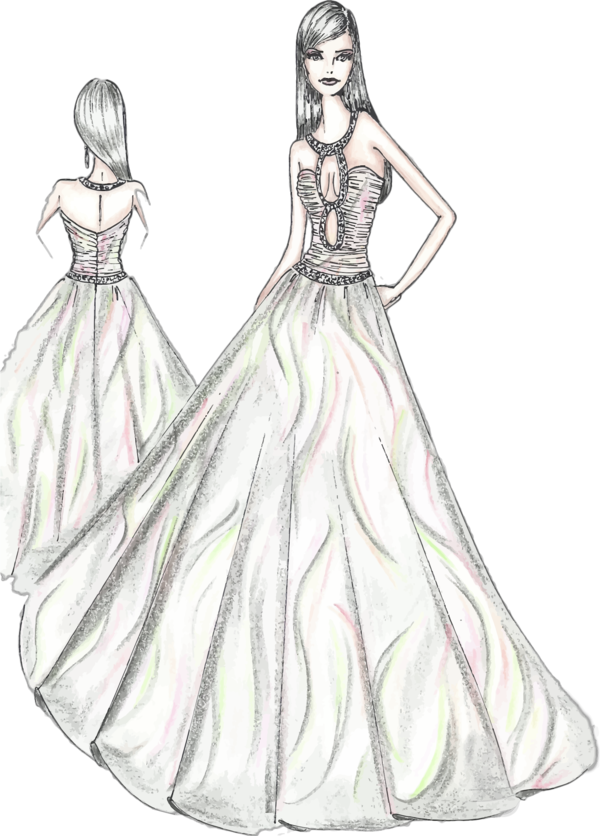 Transparent Dress Gown Dress Clothing Clipart for Clothing