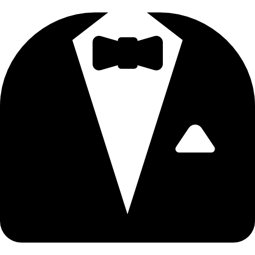 Transparent Tie Black And White Line Symbol Clipart for Clothing
