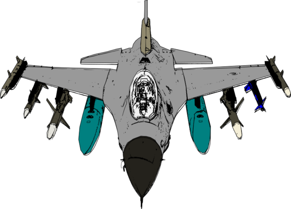 Transparent Air Force Aircraft Airplane Military Aircraft Clipart for Military