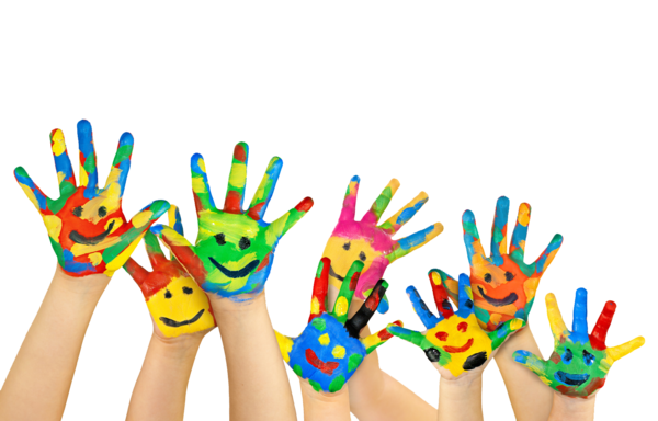 Transparent Education Finger Hand Toy Clipart for School