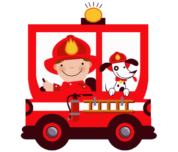 Transparent Fire Vehicle Christmas Area Clipart for Nature