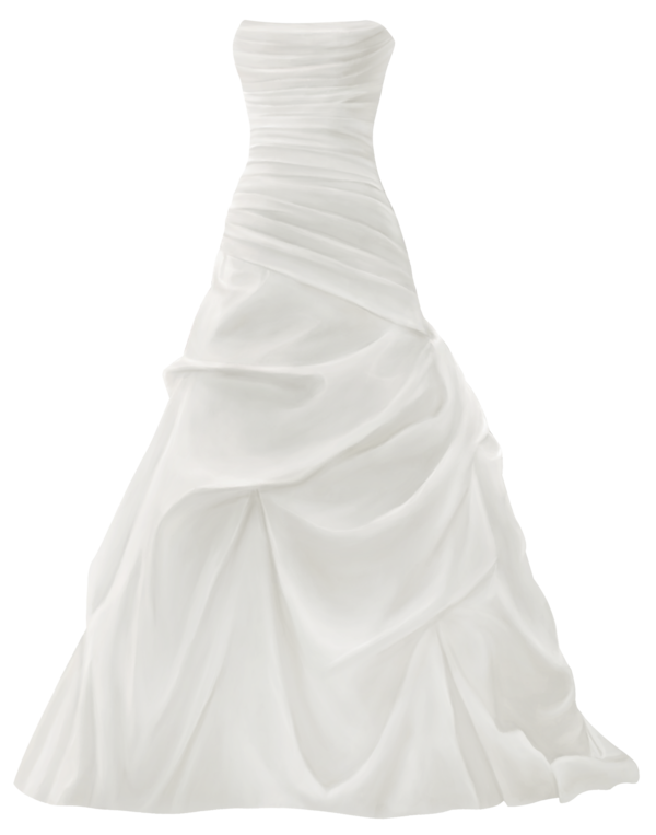 Transparent Cocktail Dress Gown Wedding Dress Clipart for Drink