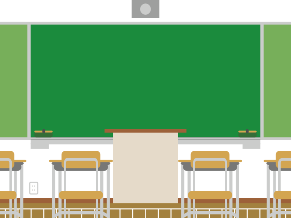 Transparent Classroom Furniture Table Text Clipart for School