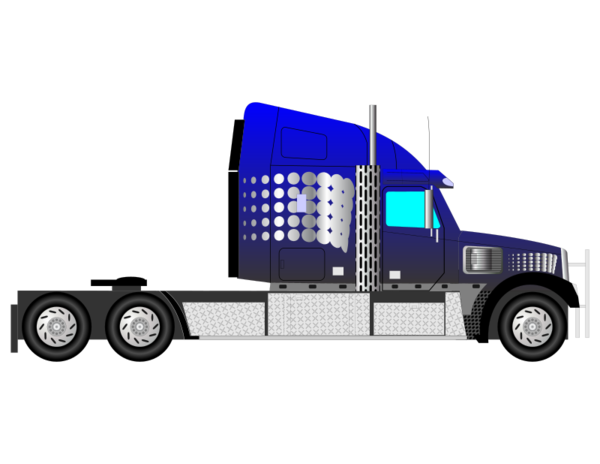 Transparent Truck Transport Vehicle Truck Clipart for Transportation