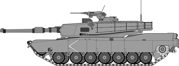 Transparent Battle Weapon Tank Vehicle Clipart for Military