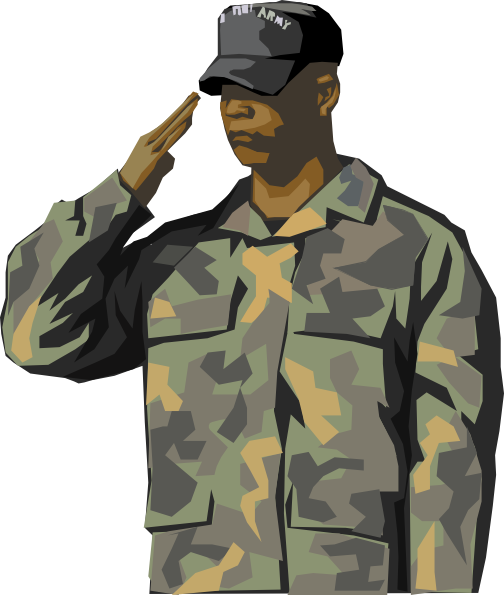 Transparent Jacket Military Uniform Soldier Military Camouflage Clipart for Clothing