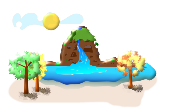 Transparent Water Cartoon Recreation Games Clipart for Nature