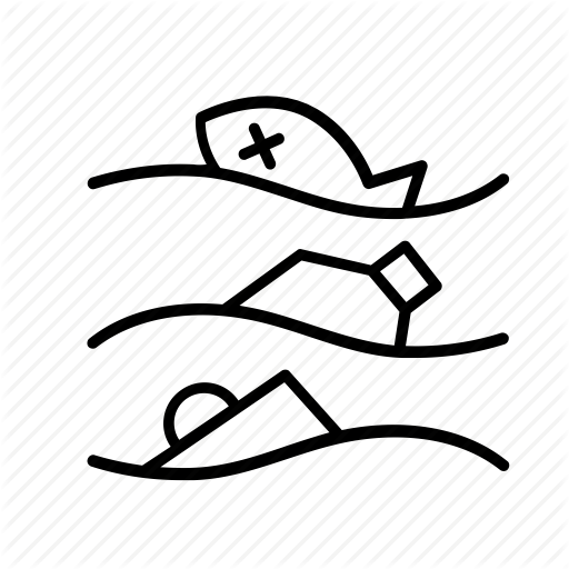 Transparent Water Text Black And White Line Clipart for Nature