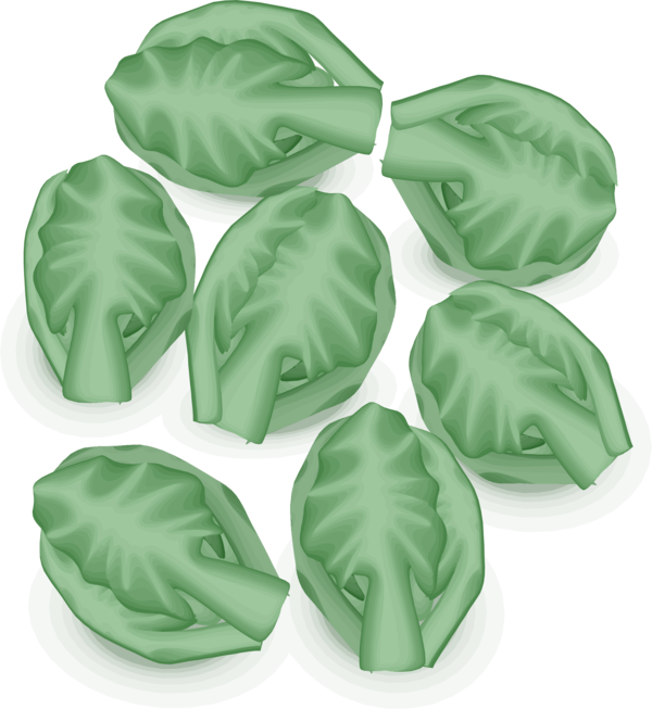 Transparent Vegetable Leaf Food Clipart for Food