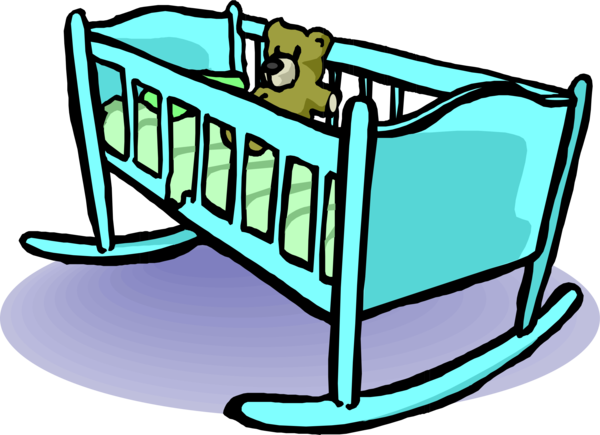 Transparent Baby Line Furniture Area Clipart for People
