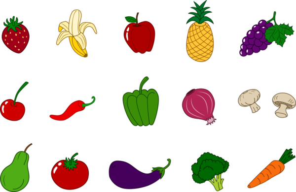 Vegetable Foods Clipart Set � Includes 30 Graphics! | Food clipart,  Vegetables, Clip art