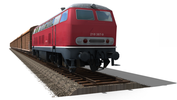 Transparent Car Train Rolling Stock Vehicle Clipart for Transportation