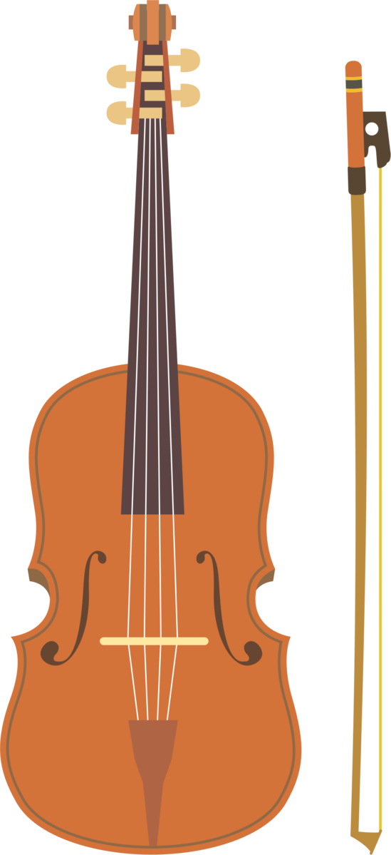 Transparent Family Musical Instrument Violin Cello Clipart for People