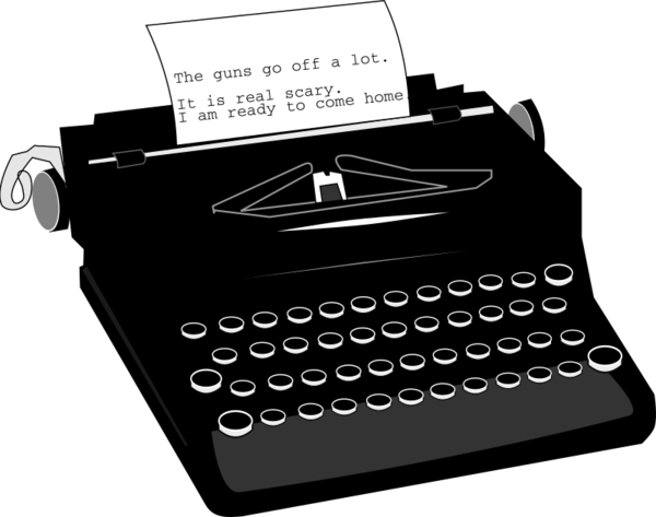 Transparent Office Office Supplies Typewriter Office Equipment Clipart for Business