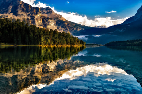 Transparent Water Nature Lake Wilderness Clipart for Nature