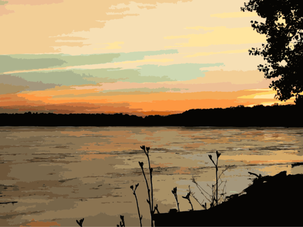 Transparent Water Sky Water Sunset Clipart for Nature