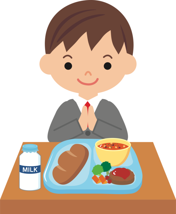 Transparent Meal Food Male Boy Clipart for Food
