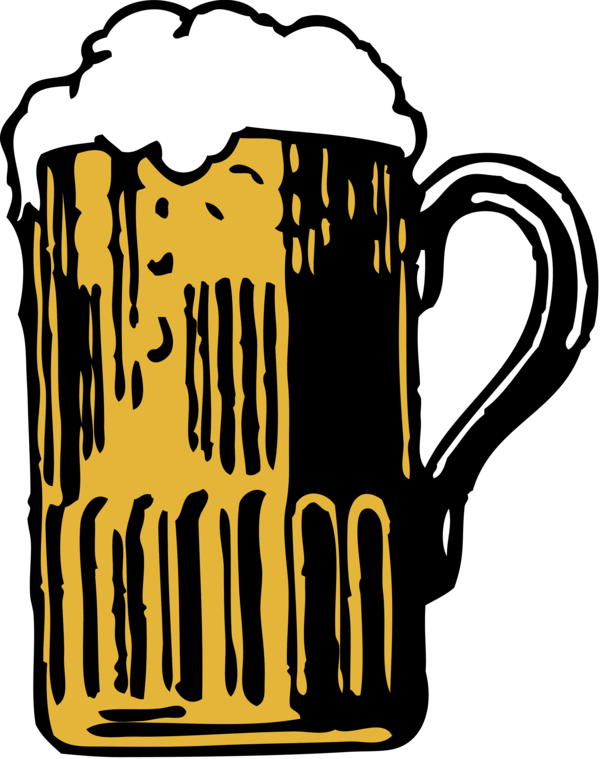 Free Beer Text Mug Logo Clipart Clipart Transparent Background