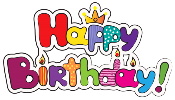 Transparent Birthday Text Line Area Clipart for Occasions
