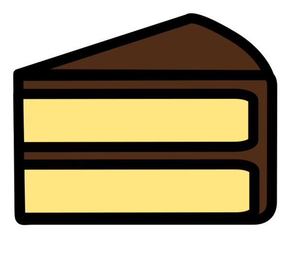 Transparent Bread Line Angle Rectangle Clipart for Food